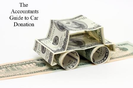 Accountants Guide to Car Donation