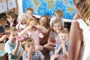 Children learn in mixed-age classrooms.
