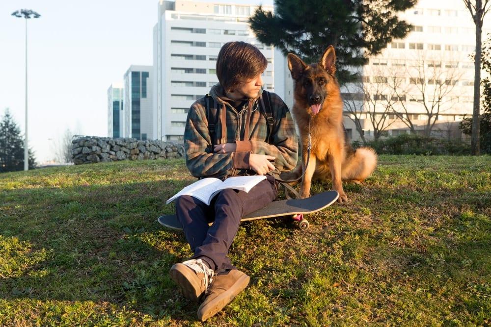 Teen dogger