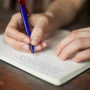 Journaling for just 15 minutes a day is found to improve outlook, mood fluctuations, and outlook.