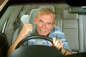 Pounding on Steering Wheel