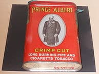 """Prince Albert Cigarettes"" by Alex Israel Licensed under CC BY-SA 3.0 via Wikimedia Commons - http://commons.wikimedia.org/wiki/File:Prince_Albert_Cigarettes.JPG#/media/File:Prince_Albert_Cigarettes.JPG"