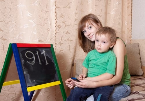 Teaching Kids About Dialing 911