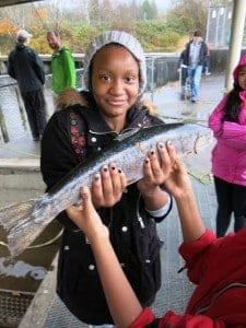 Hands on education at a fishery (courtesy)