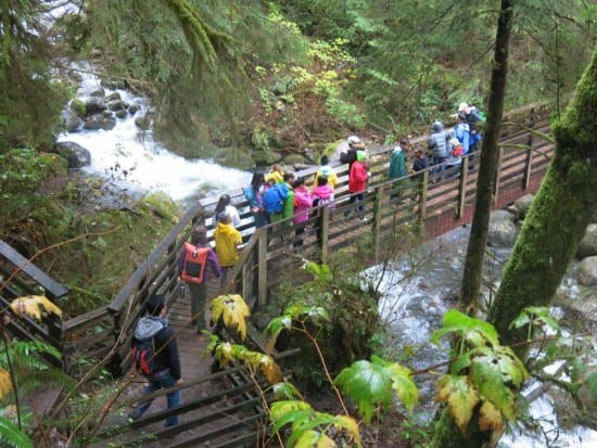 Seattle ICO, Wallace Falls Trail