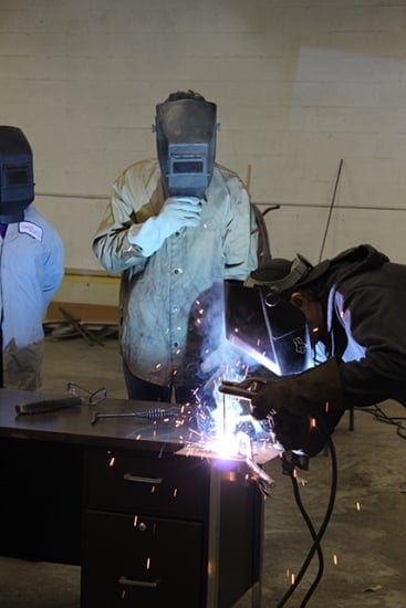 Welding at The Bridge