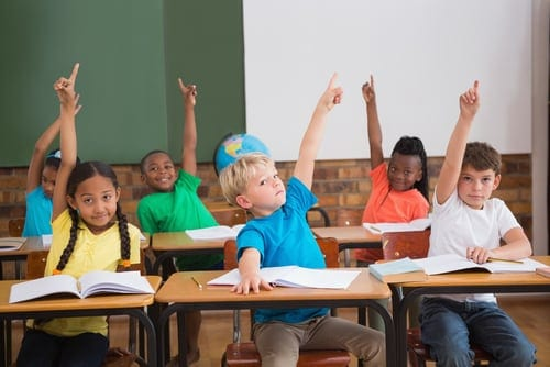 Raising Hands in the Classroom