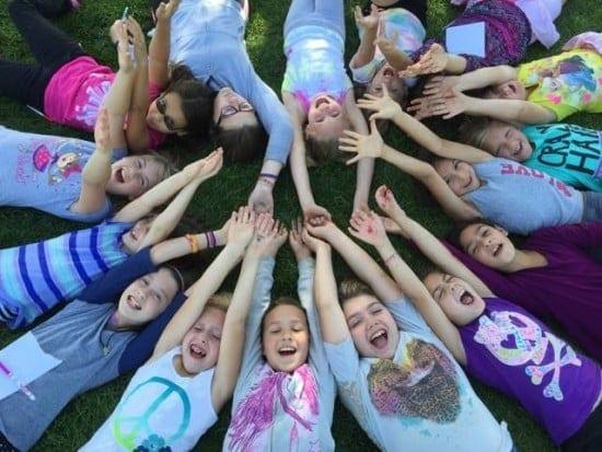Girls on the Run sisterhood in action (courtesy)