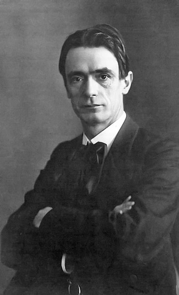 Rudolph Steiner in 1905, founder of Waldorf education system and Anthroposophy